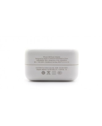 """""""1A"""" USB Power Charger Adapter for Apple iDevices"""