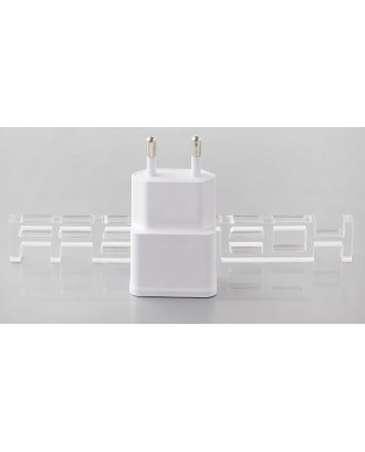 Dual USB AC Power Adapter / Travel Charger (Euro Plug)