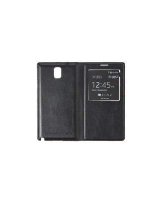 NOTE3C Qi Wireless Charging Flip-open Case for Samsung Galaxy Note III