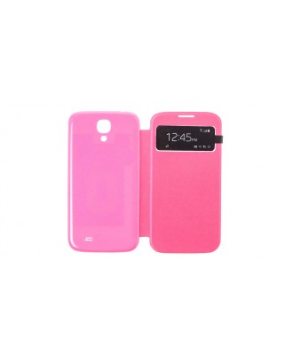 GT-9500 Qi Wireless Charging Flip-open Case for Samsung Galaxy S4 i9500