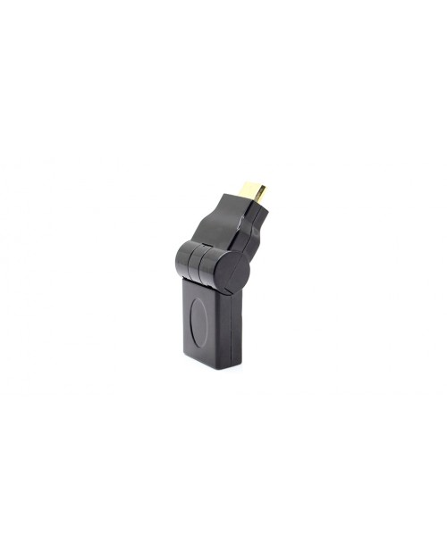 180 Degree Rotatable HDMI Male to Female Adapter