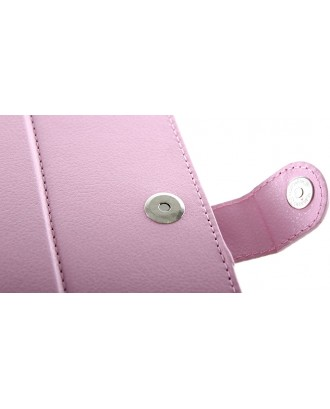 """Universal Protective Leather Case for 7"""" Tablet (Pink)"""