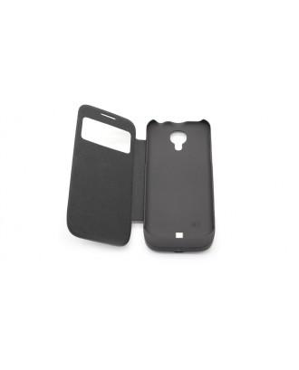 3000mAh Rechargeable External Battery Flip-open Case for Samsung Galaxy S4 Mini