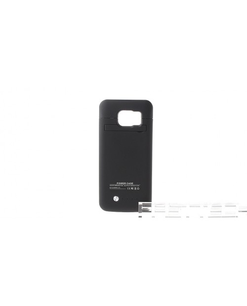 """""""4200mAh"""" Rechargeable External Battery Back Case for Samsung Galaxy S6 Edge"""