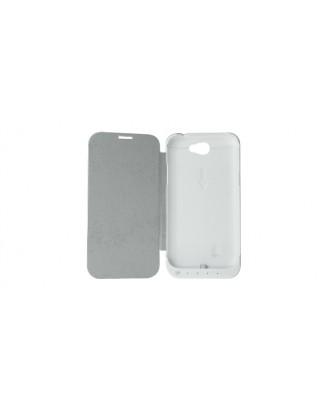 3200mAh Rechargeable External Battery Flip-open Case for Samsung Galaxy Note II