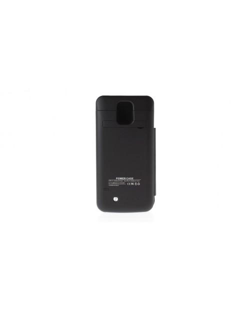 3800mAh Rechargeable External Battery Flip-open Case for Samsung S5 i9600